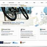 www.balticseacycling.com, Website from Baltic Sea Cycling project